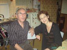 L'auteur Jean Claude MARTINEAU et Florence GAILLARD metteure en scène