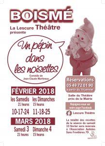 Affiche Théatre 2018